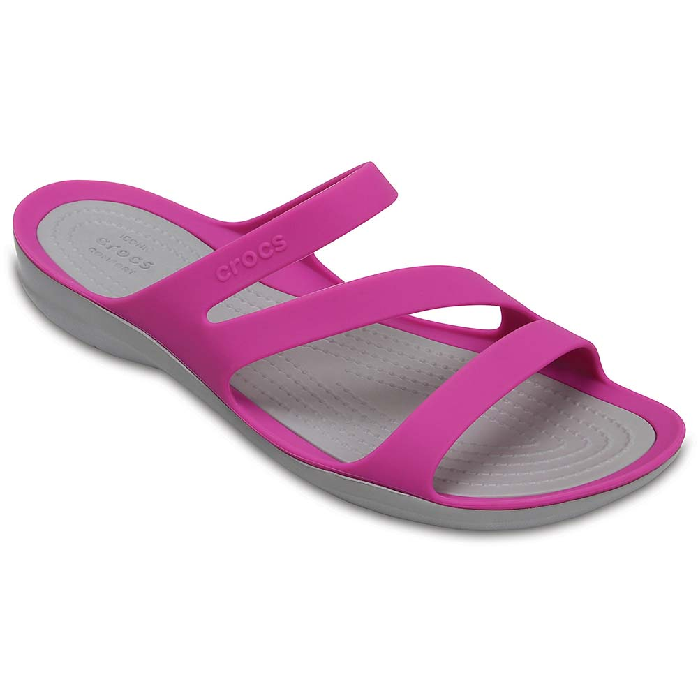 6494aef374e Crocs Swiftwater Sandal Purple buy and offers on Dressinn