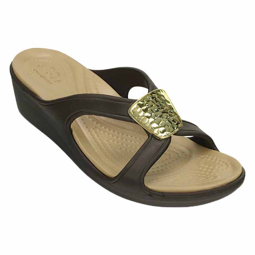 bf78e76f56f94c Crocs Sanrah Embellished Wedge buy and offers on Dressinn