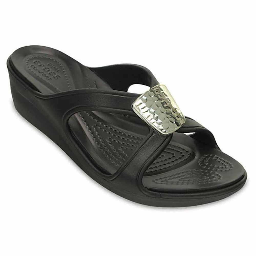 4f986768a5e1 Crocs sanrah embellished wedge buy and offers on dressinn jpg 1000x1000 Crocs  sanrah