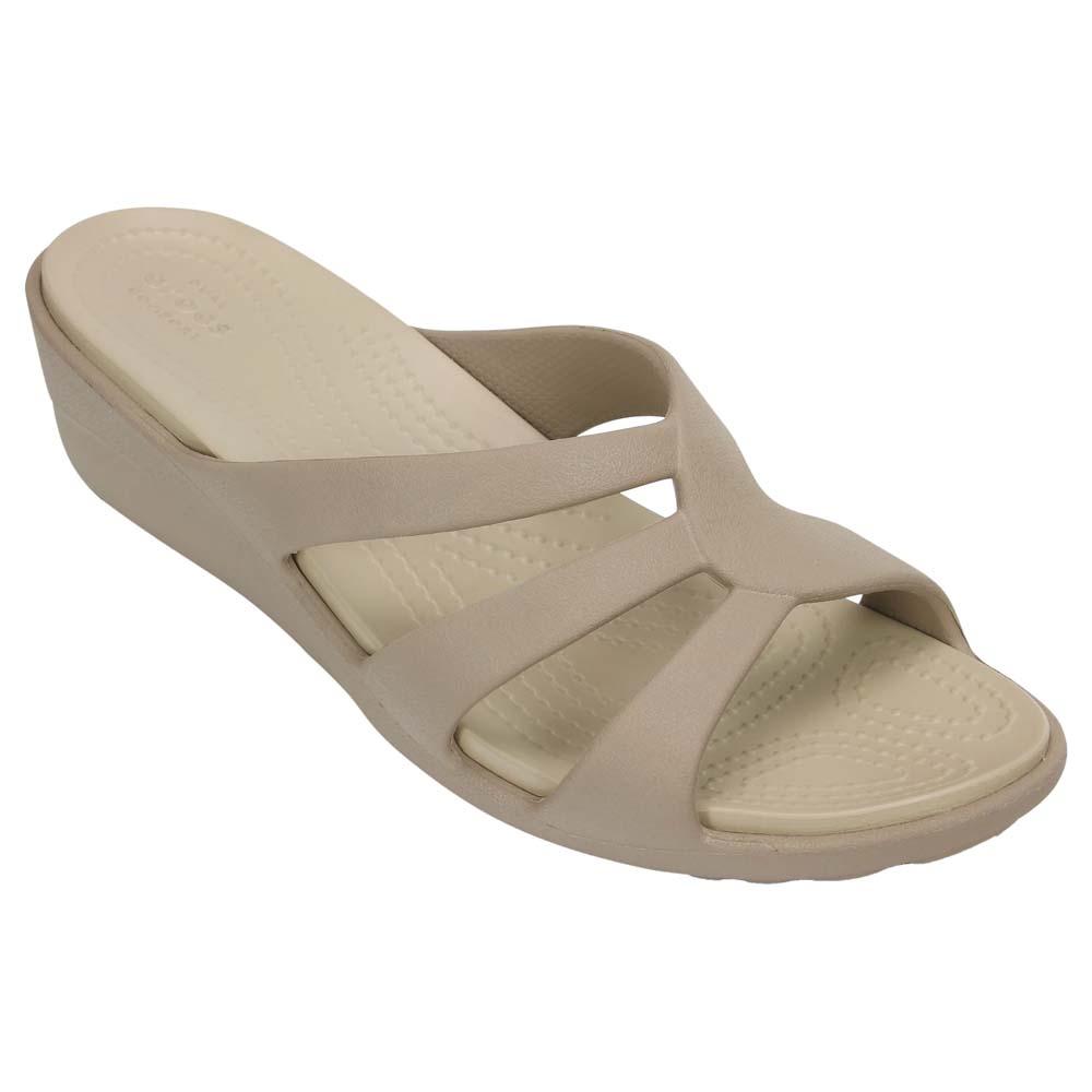 Crocs Sanrah Strappy Wedge EU 39 1 2