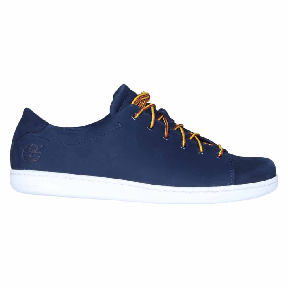 Timberland Newmarket Leather OX Blue buy and offers on Dressinn eaa920e3daa0