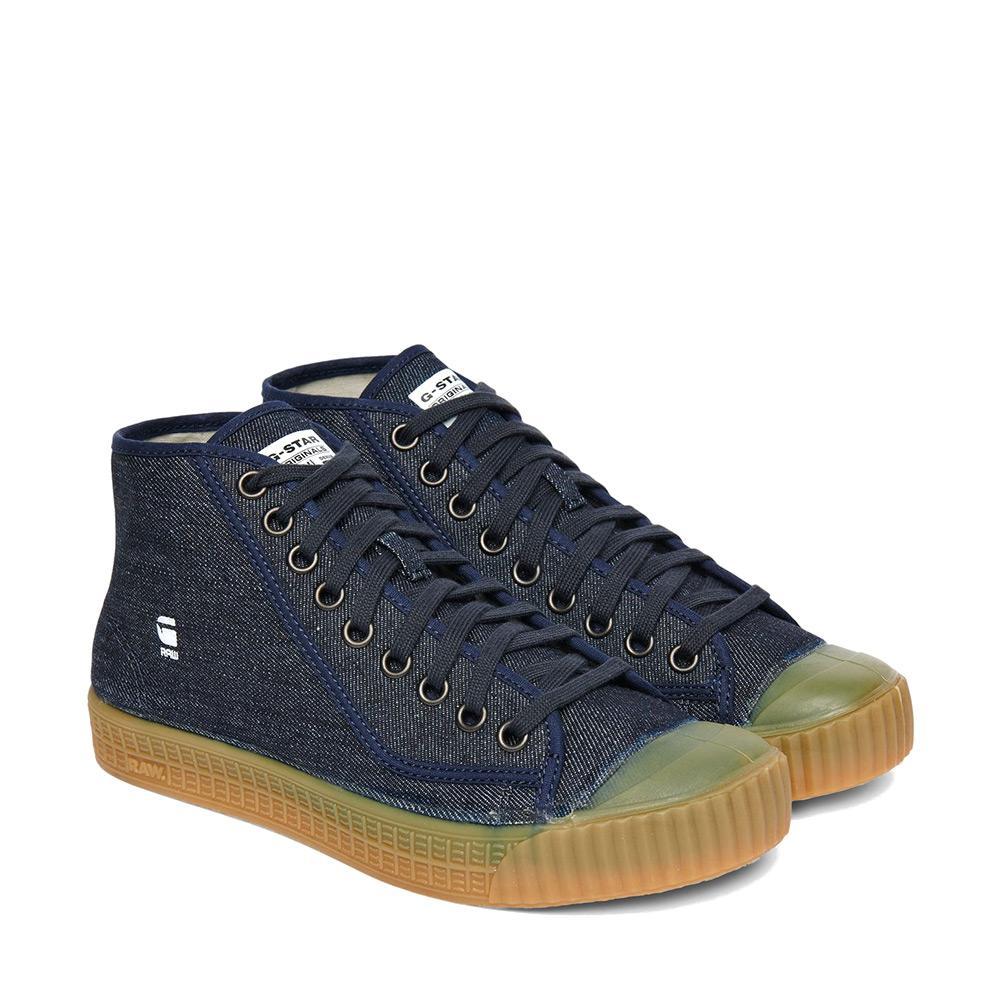 Rovulc Roel Wash Mid Sneaker HbKe4RtA