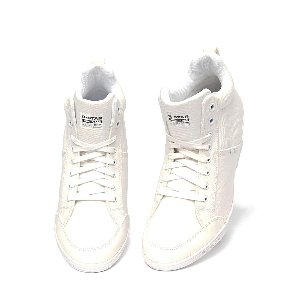 7592d802491a Gstar New Labour Wedge White buy and offers on Dressinn