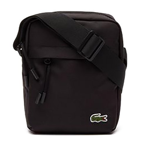 6f4478334 Lacoste Vertical Camera Bag Black buy and offers on Dressinn