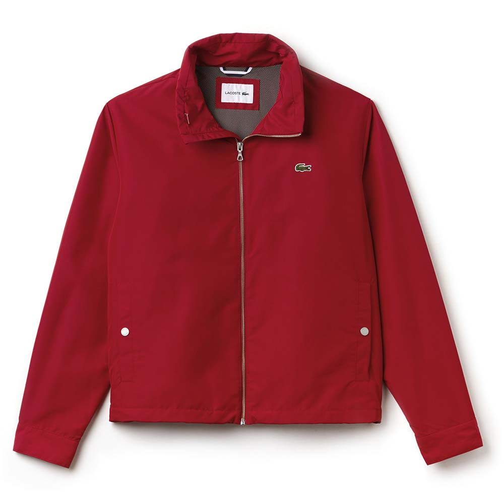 349bdedbe319 Lacoste BH2331 Jacket Red buy and offers on Dressinn