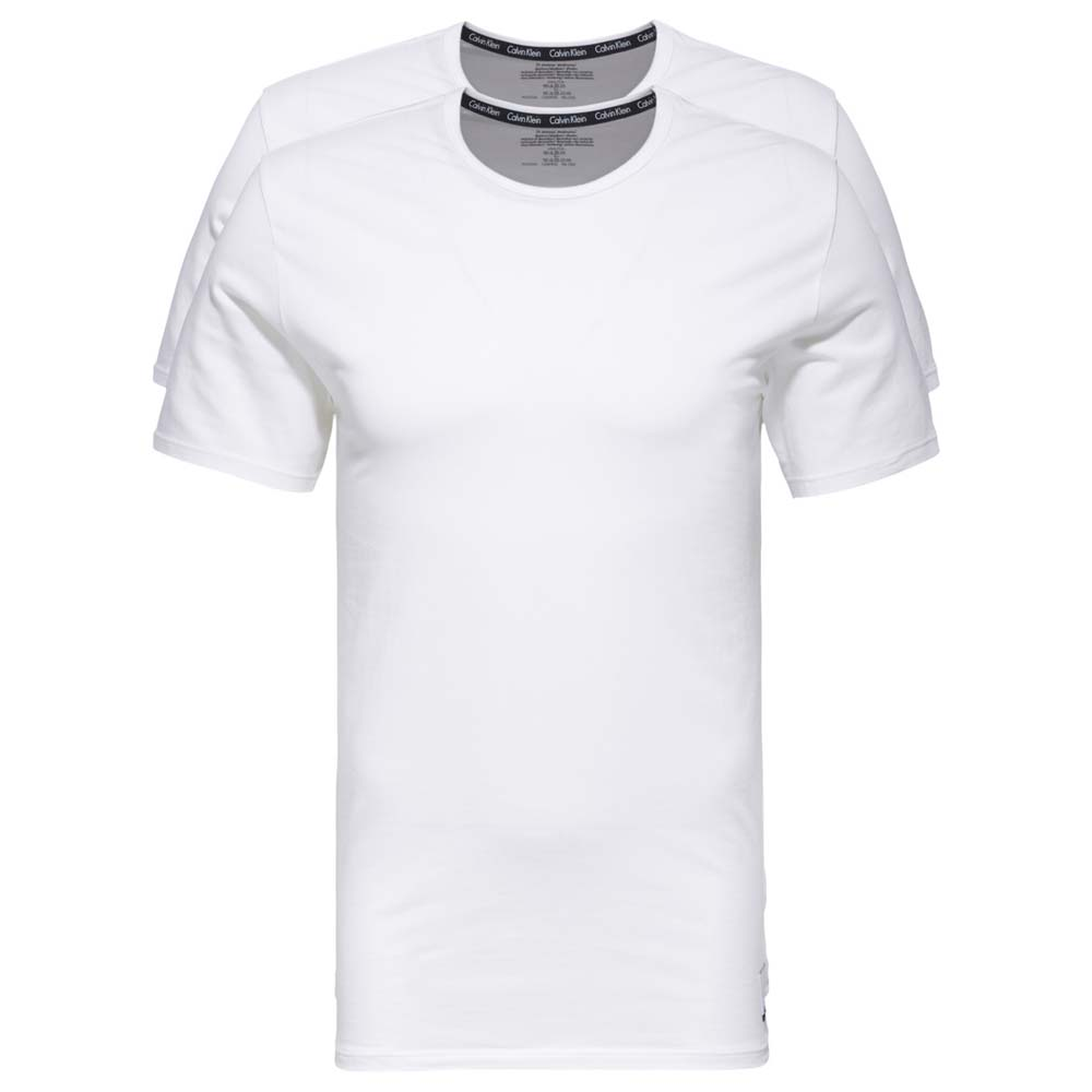 Calvin klein 2 Pack S/S Crew Neck T Shirt Slim Fit