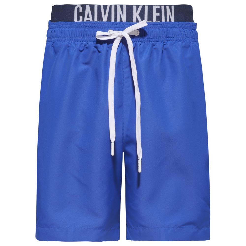 Calvin klein Medium Double Waistband Blau, Dressinn