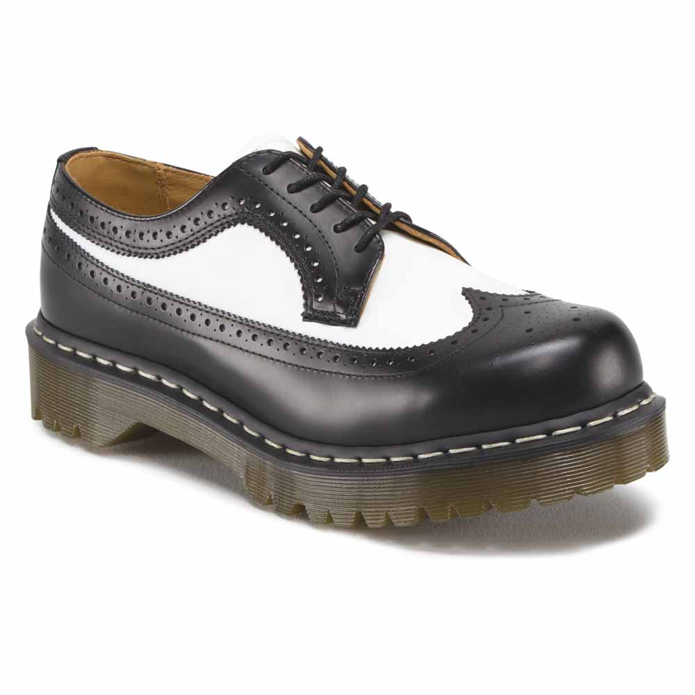 3fbd0edf7a2 Dr martens 3989 Smooth Brogue Bex Negro