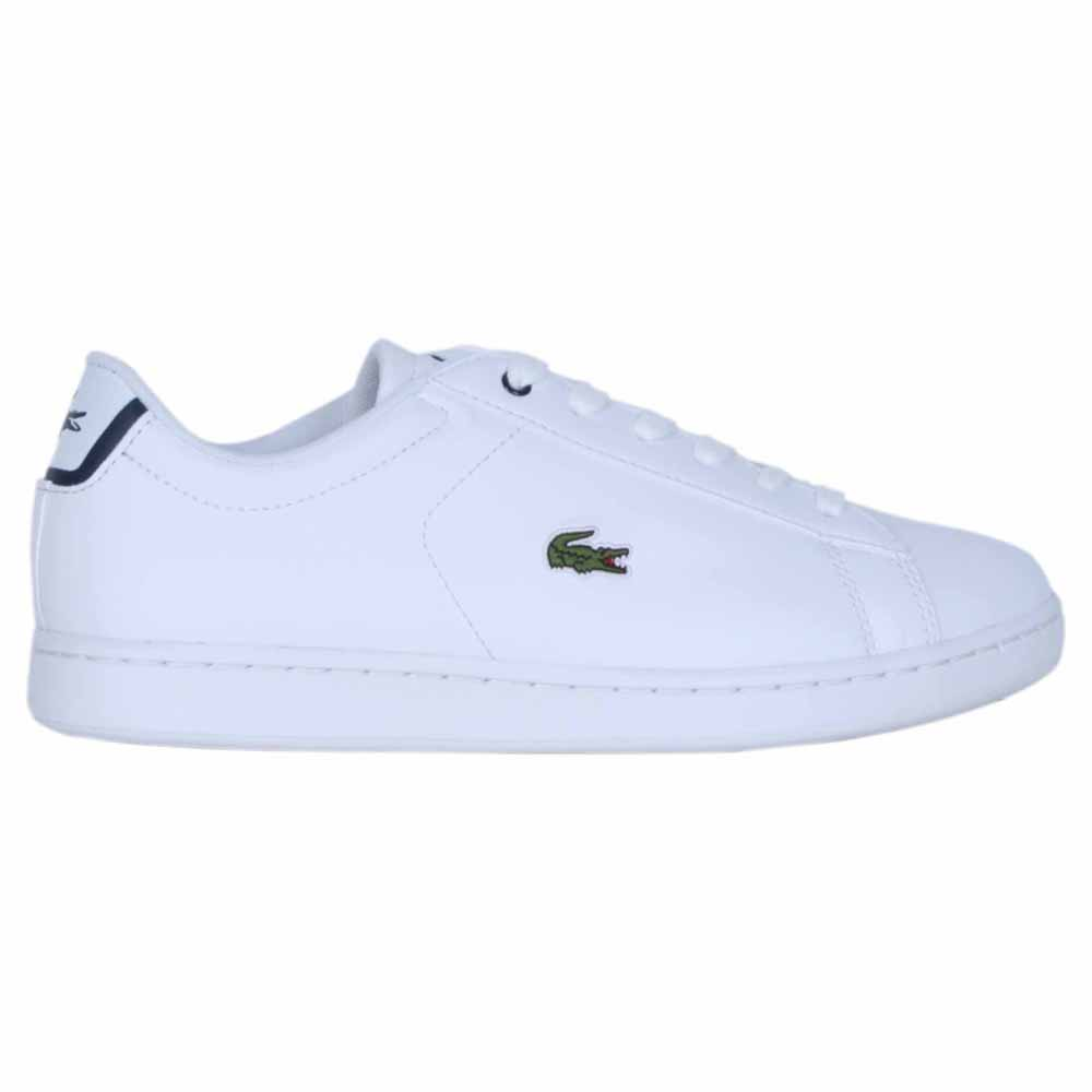 bde9552bdab5 Lacoste Carnaby Evo BL 1 White buy and offers on Dressinn