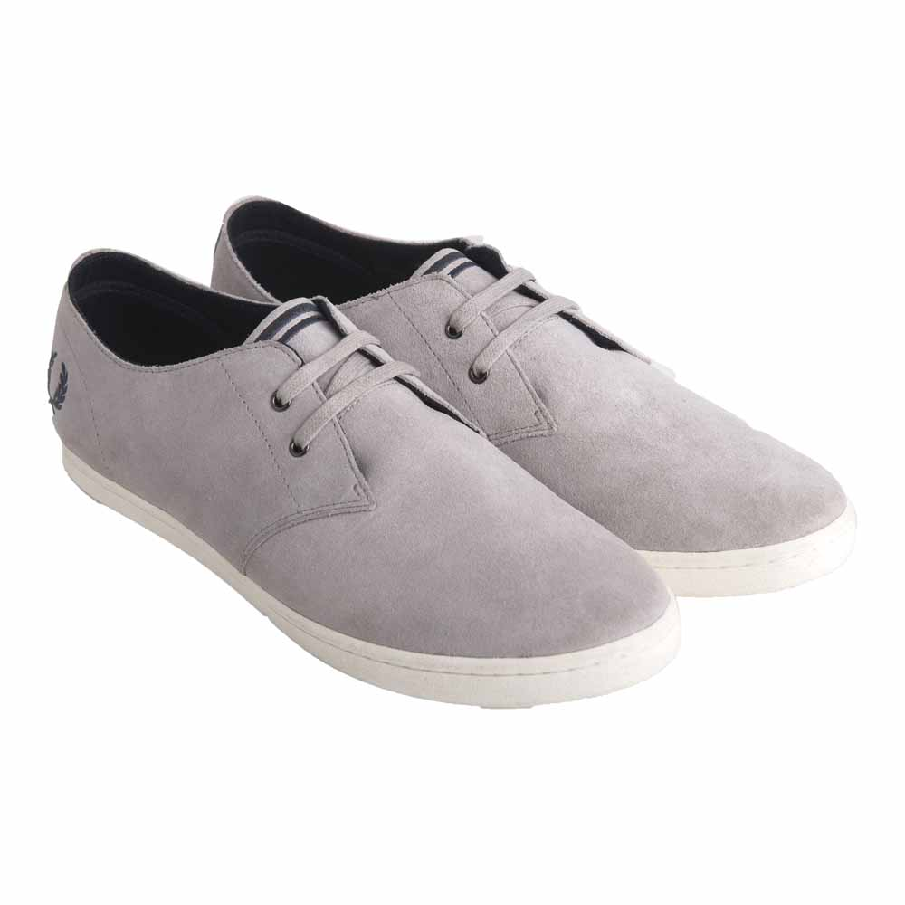 Fred Perry Byron Low Suede Shoes In BI2H67l