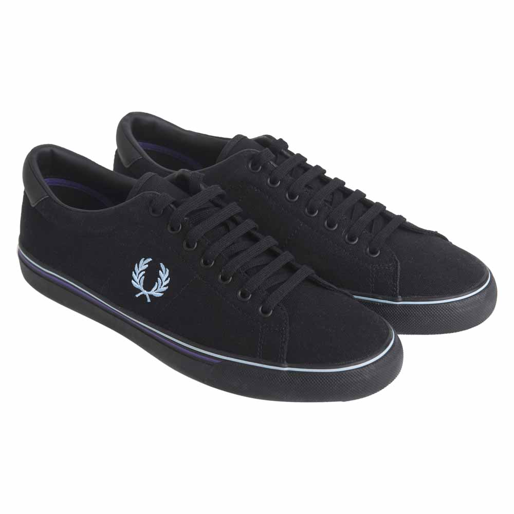 Fred Perry UNDERSPIN CANVAS Noir xMoKueg