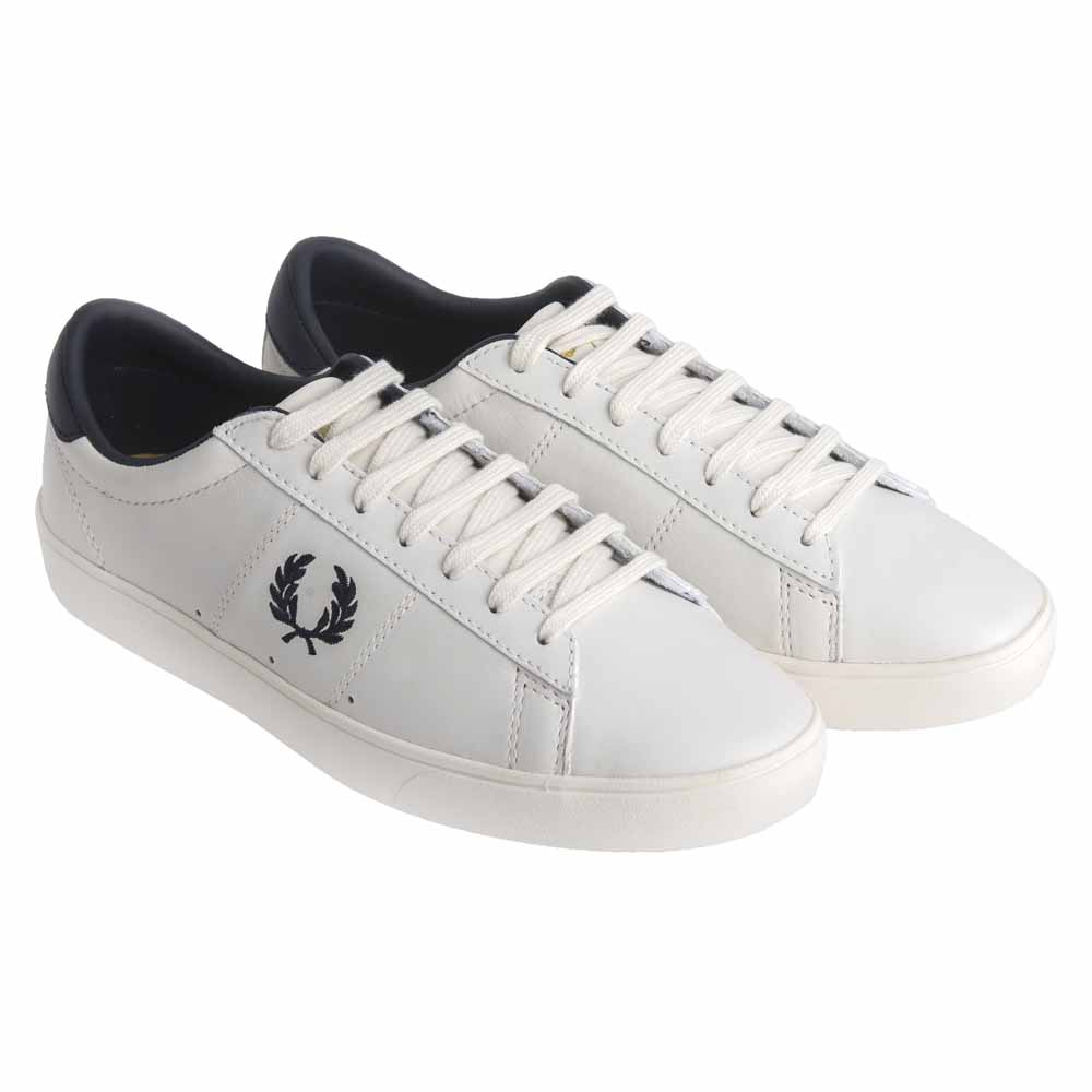 b7b8474b807 Fred perry Spencer Leather White buy and offers on Dressinn