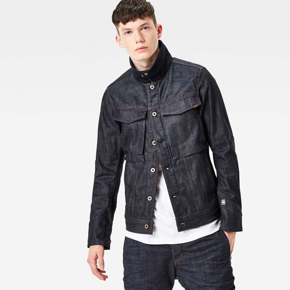 g star vodan 3d slim jacket buy and offers on dressinn. Black Bedroom Furniture Sets. Home Design Ideas