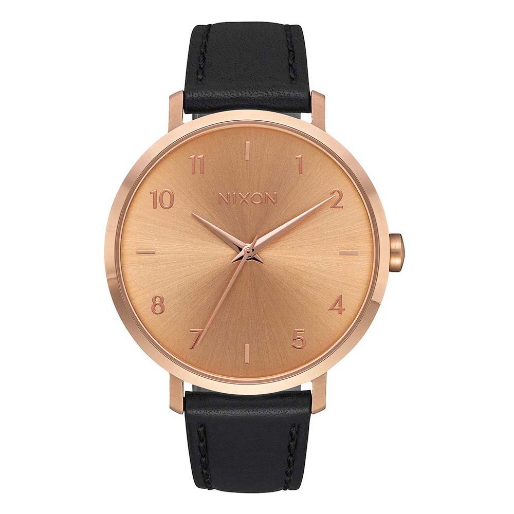 Relógios Nixon Arrow Leather One Size Rose Gold / Black
