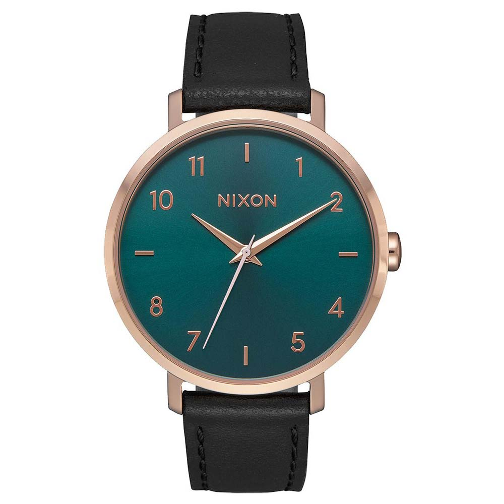 Relógios Nixon Arrow Leather One Size Rose Gold / Emerald