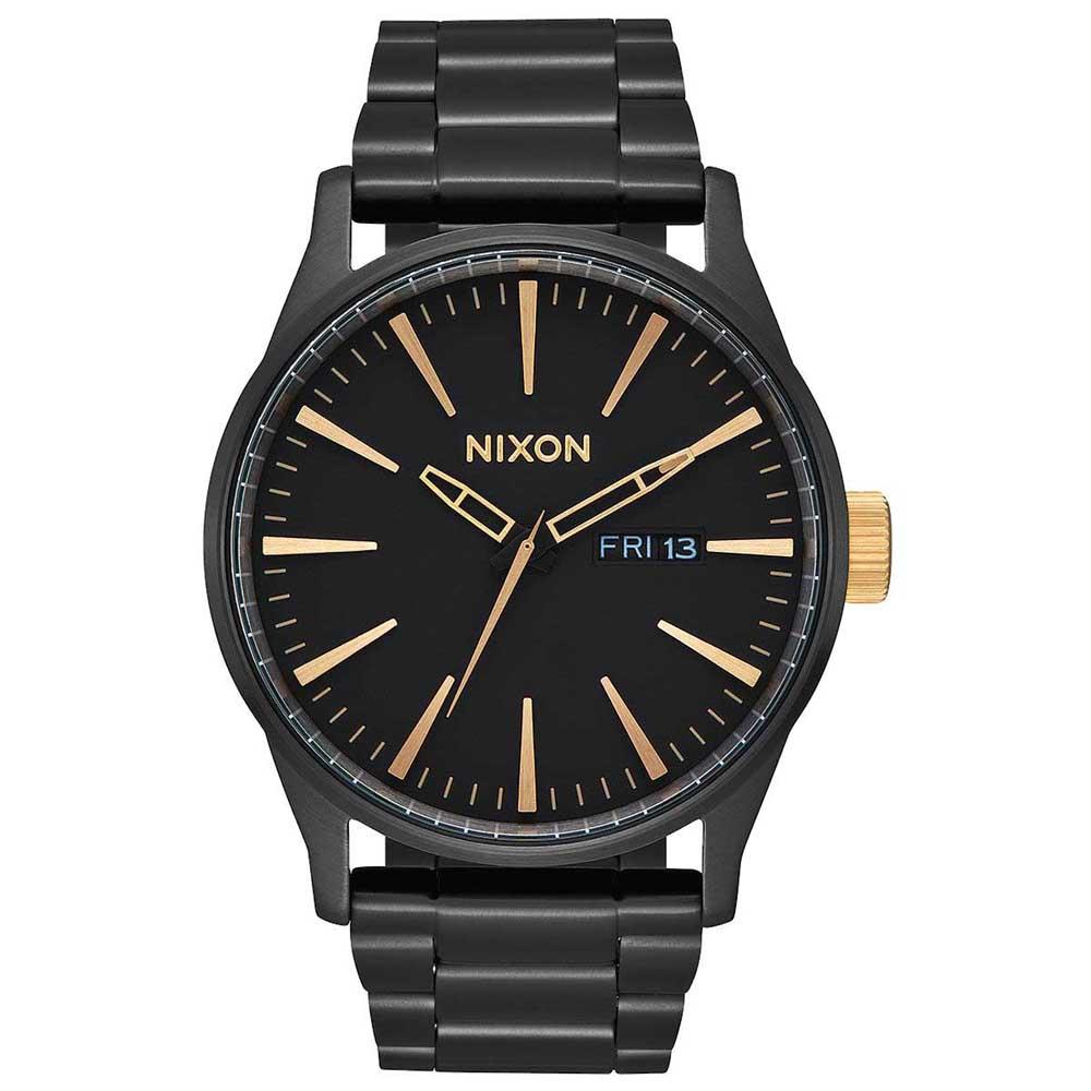 Relógios Nixon Sentry Ss One Size Matte Black / Gold