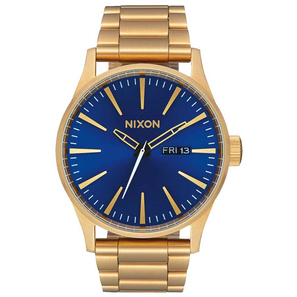 Relógios Nixon Sentry Ss One Size All Gold / Blue Sunray