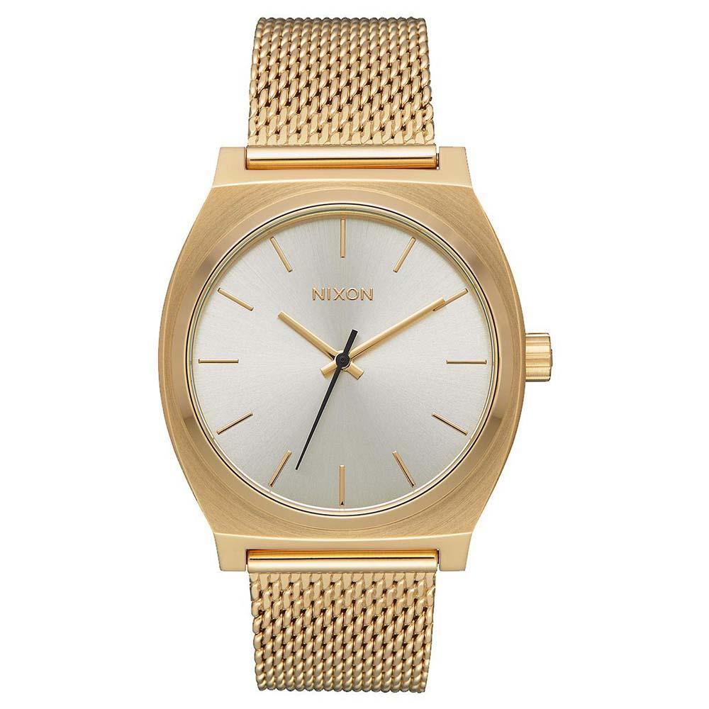 Relógios Nixon Time Teller Milanese One Size All Gold / Cream