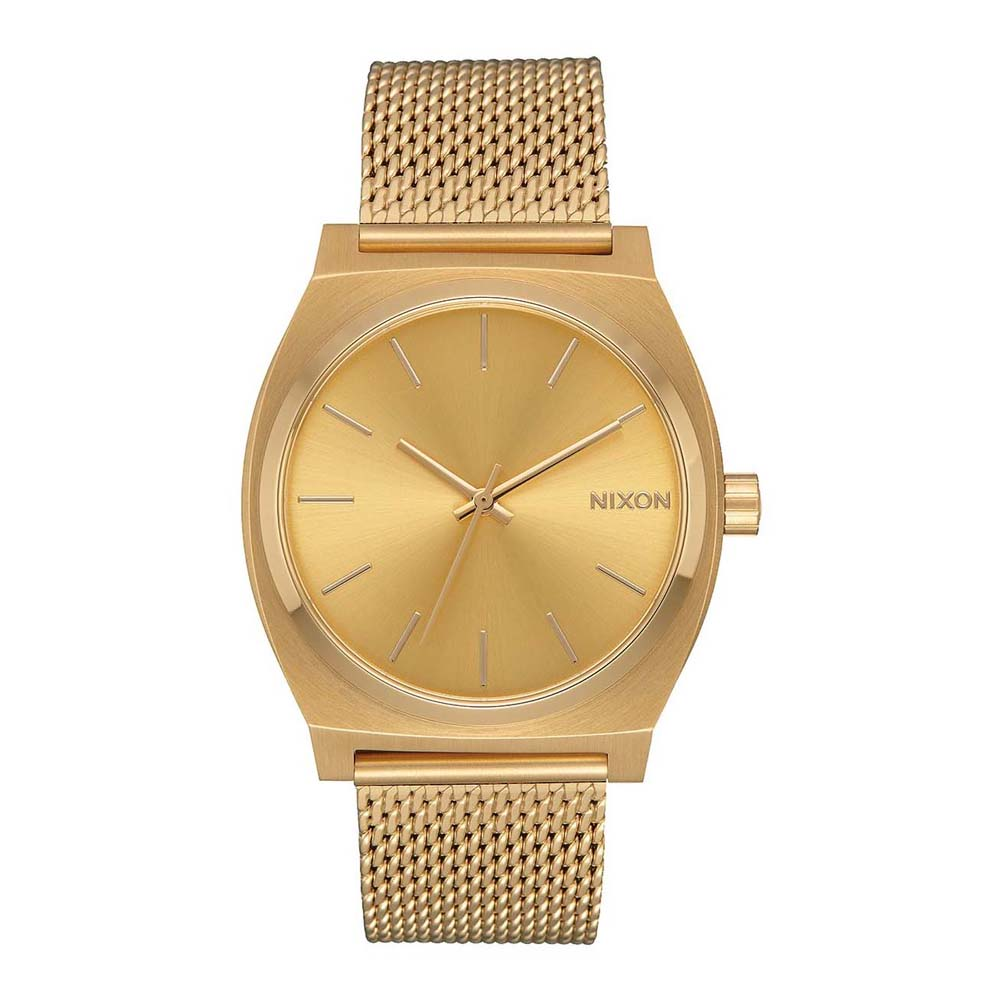 Relógios Nixon Time Teller Milanese One Size All Gold