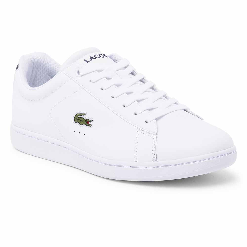 Sneakers Lacoste Carnaby Evo Premium Leather EU 47 White