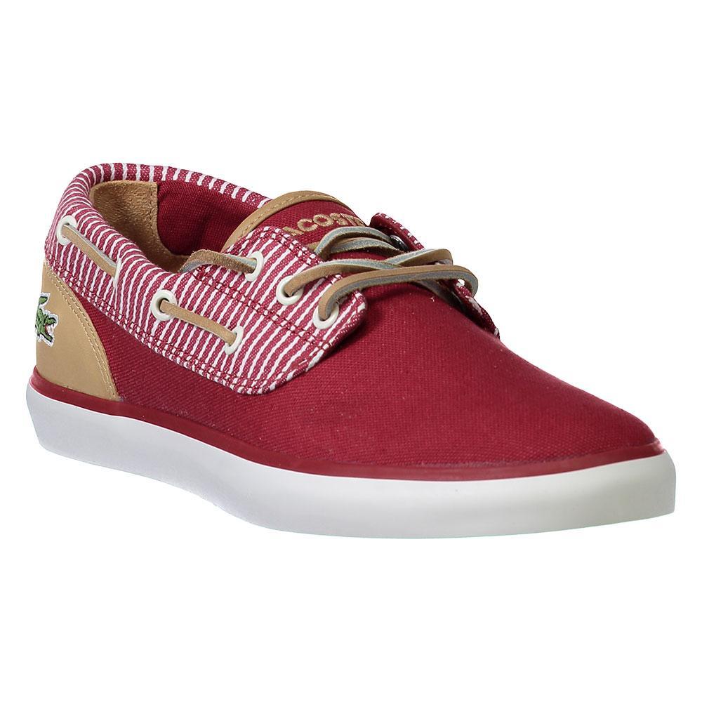 Lacoste Mens Jouer Deck Sneaker