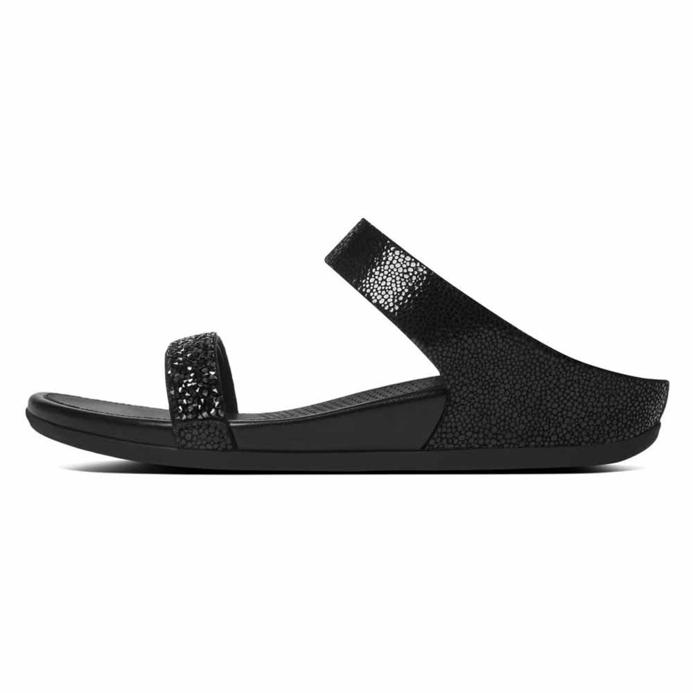 3d0a888fb Fitflop Banda Roxy Slide Black buy and offers on Dressinn