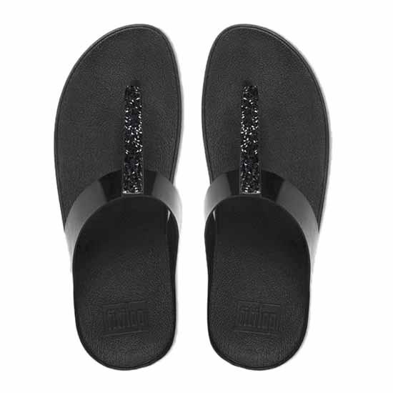 46ca4b17420 Fitflop Fino Toe Post Black buy and offers on Dressinn