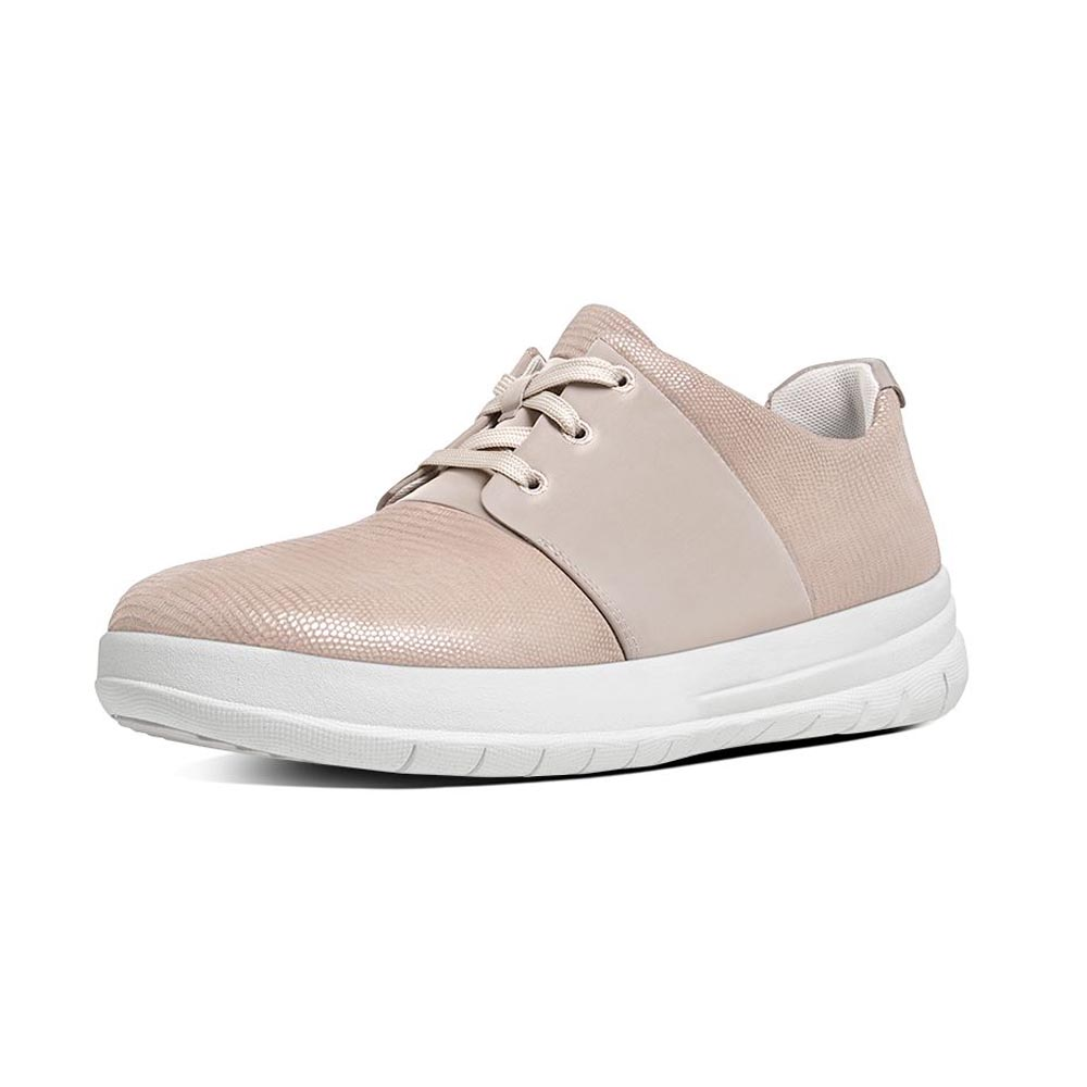 Sneakers Fitflop Sporty Pop X Lizard Print EU 36 Nude Pink