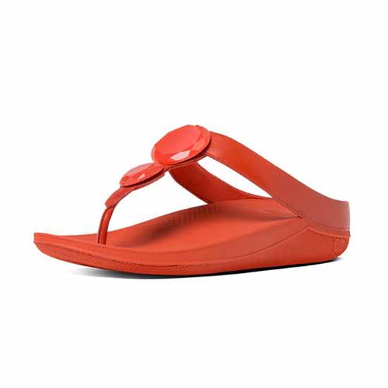 1f1aea3b5 Fitflop Luna Pop Red buy and offers on Dressinn