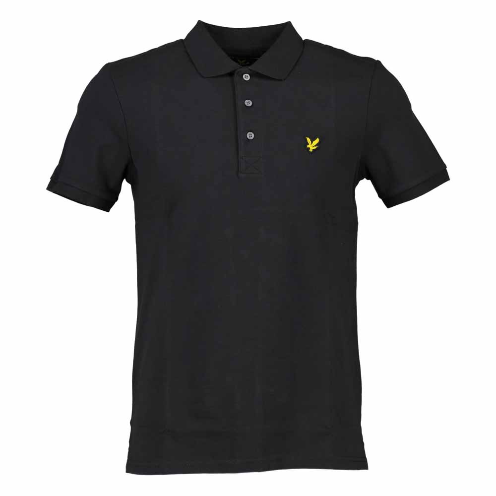 lyle scott polo black buy and offers on dressinn. Black Bedroom Furniture Sets. Home Design Ideas