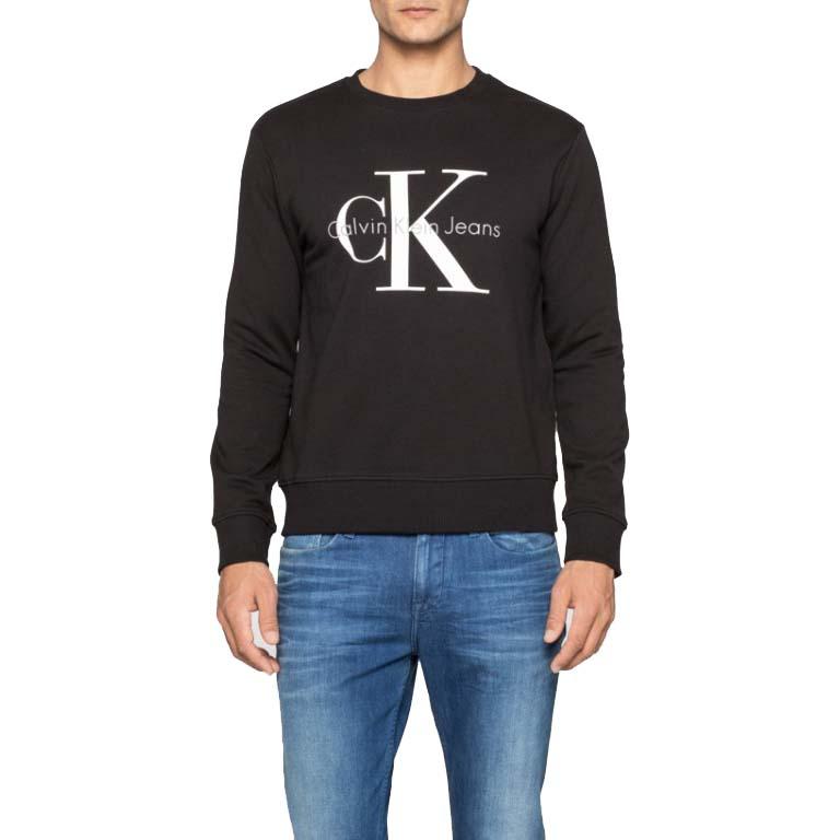 6d92883964f8 Calvin klein Crewneck HWK Black buy and offers on Dressinn