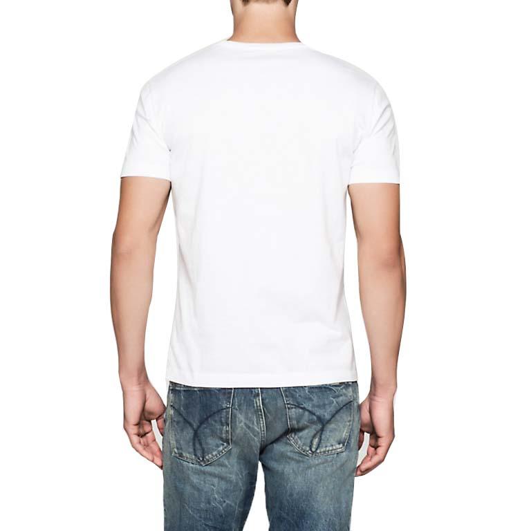 5b4b481baa0f Calvin klein Re Issue CN Regular Fit White, Dressinn