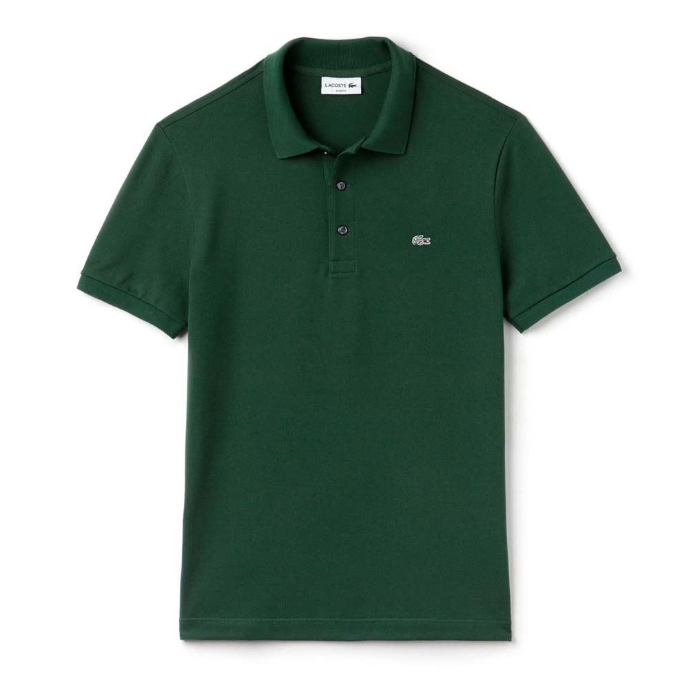 e8c700cd7 Lacoste Slim Fit Stretch Petit Pique Green