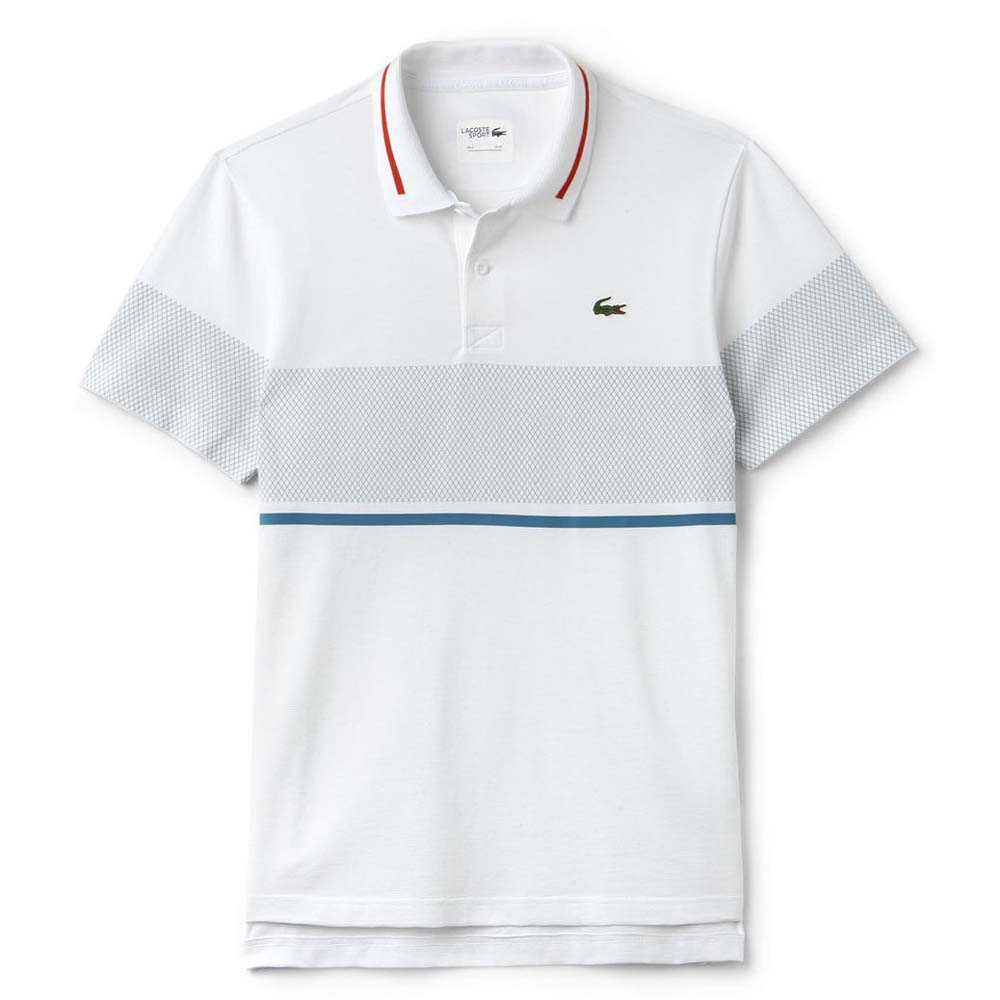 b1d113047d58 Lacoste YH2056 Polo S S White buy and offers on Dressinn