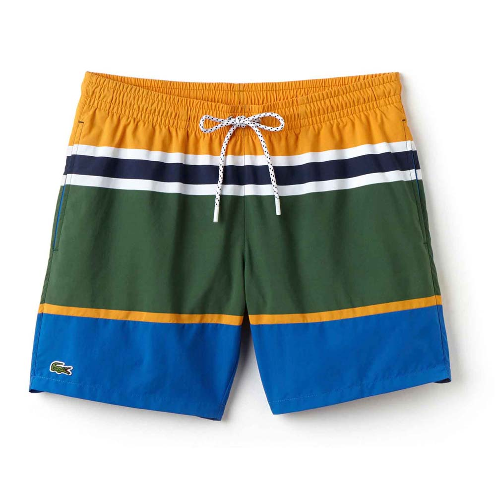 Maillots de bain Lacoste Medium Cut Colorblock Swimming Trunks