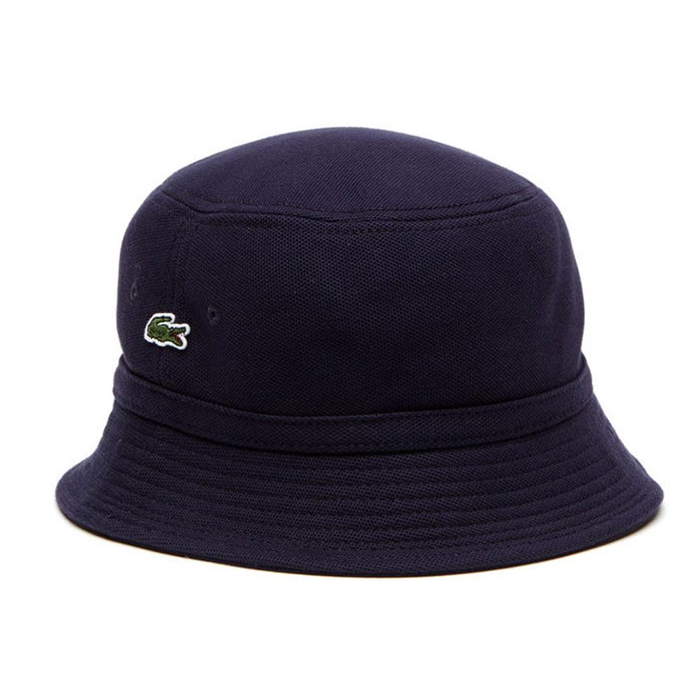 8e9ff6c169a Lacoste Pique Bucket Hat Blue buy and offers on Dressinn