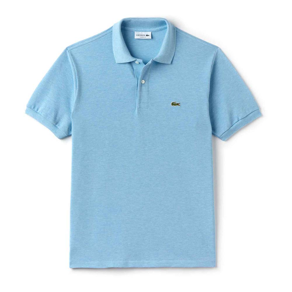 3d5df9ffb Lacoste L1264 Polo S/S Blue buy and offers on Dressinn