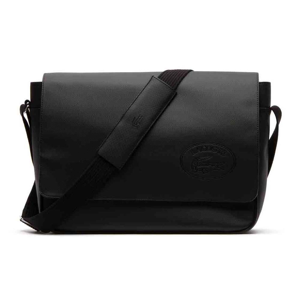ad1f5cab86a86 Lacoste Messenger Black buy and offers on Dressinn