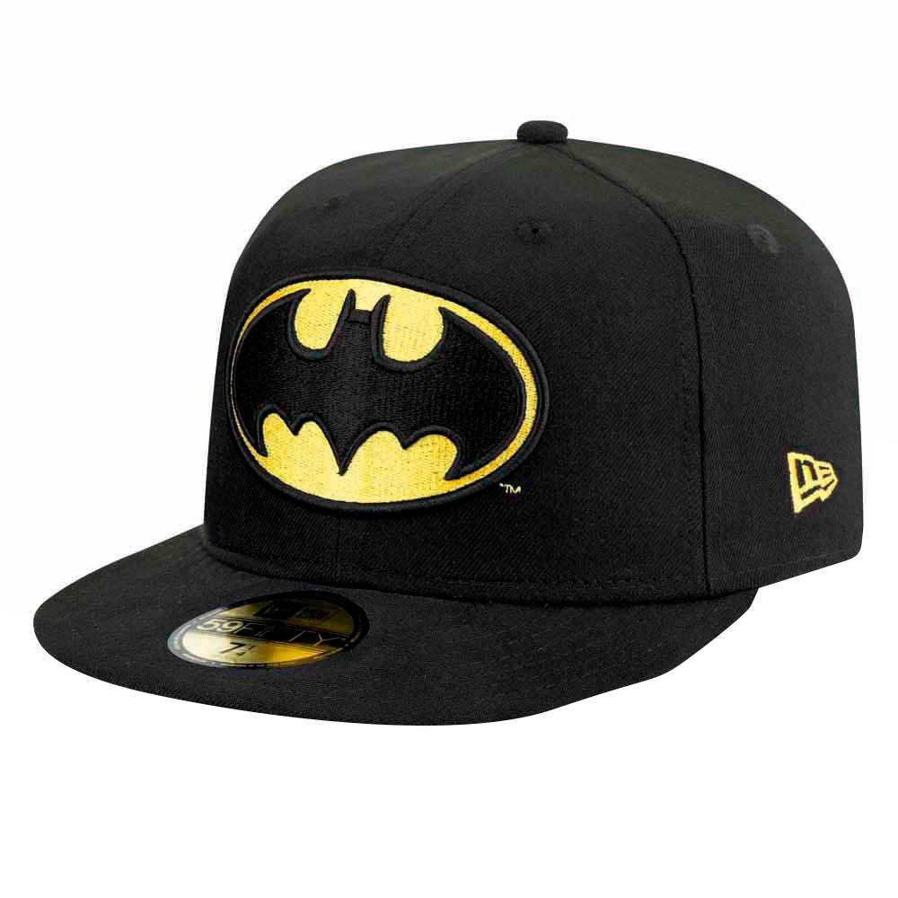 New Era Batman Black On Black 59 Fifty Fitted Cap DC Comics Capuchon Limited Edition
