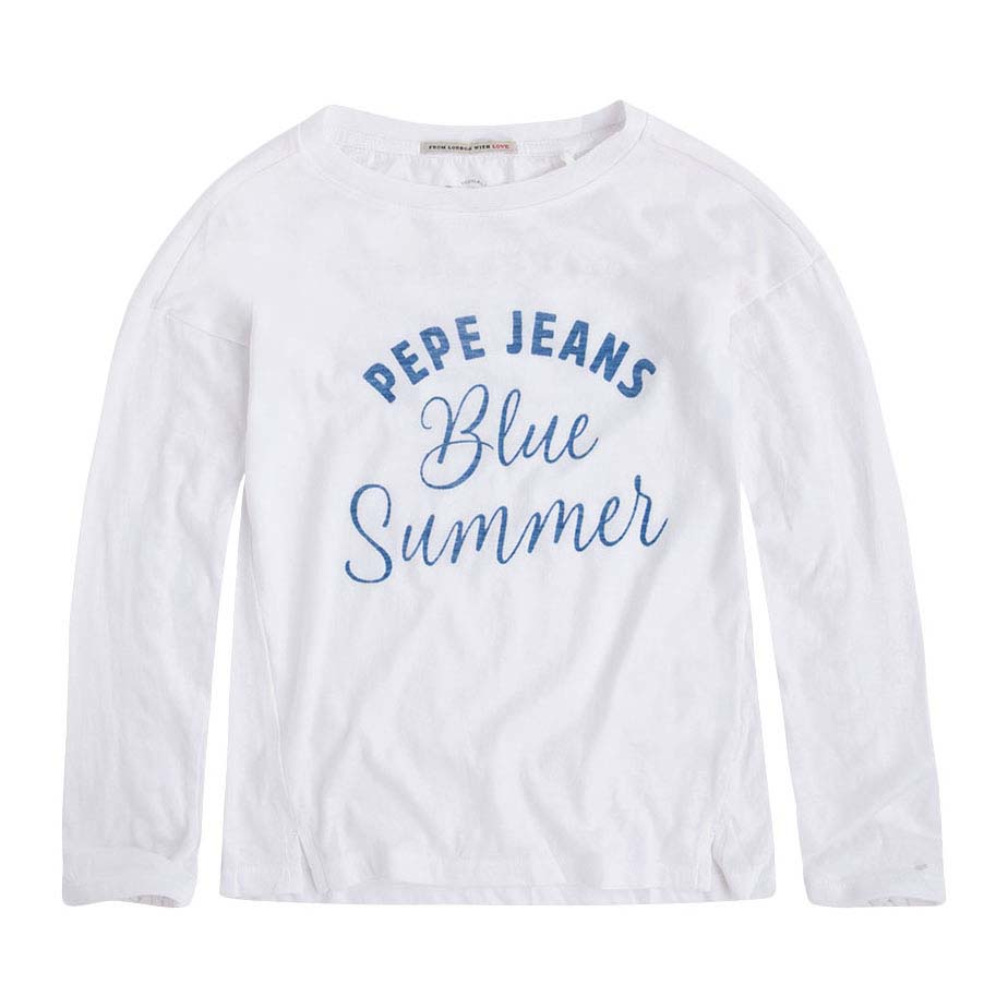 6e8d6305191 Pepe jeans Cindy Jr White buy and offers on Dressinn