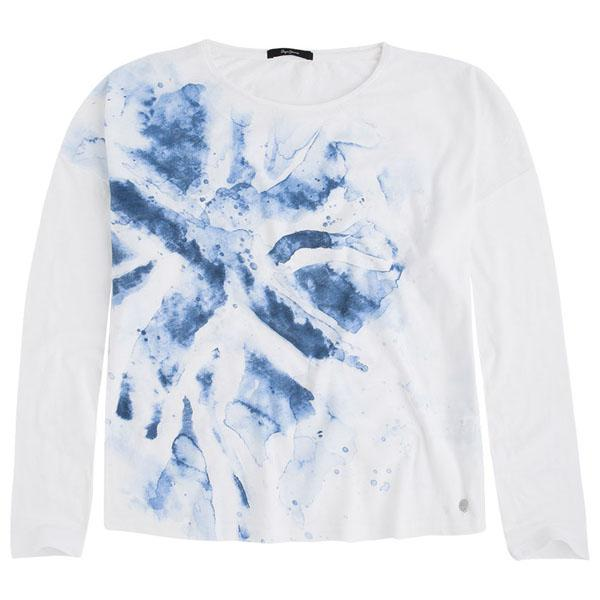 fe7d060b13132d Pepe jeans Tina White buy and offers on Dressinn