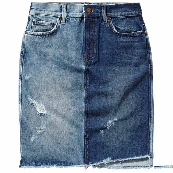 27ae6924b3 Pepe jeans Patchy Skirt Blue buy and offers on Dressinn