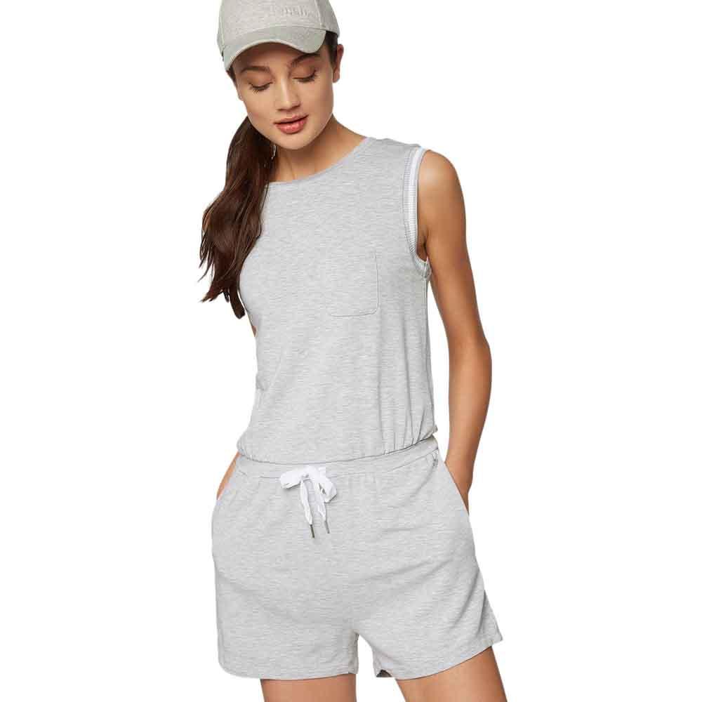 c76c56903d3 Bench Short Sweat Jumpsuit Grey buy and offers on Dressinn