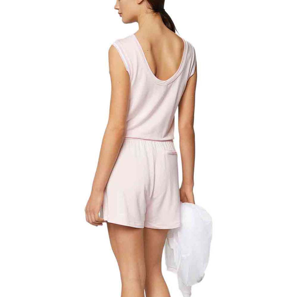 cbd95cdf841 Bench Short Sweat Jumpsuit Pink buy and offers on Dressinn