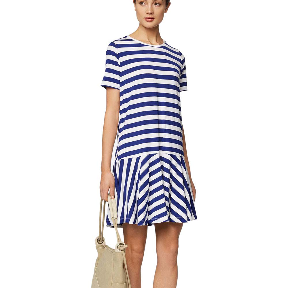 Robes Bench Jersey Tee Dress Stripes