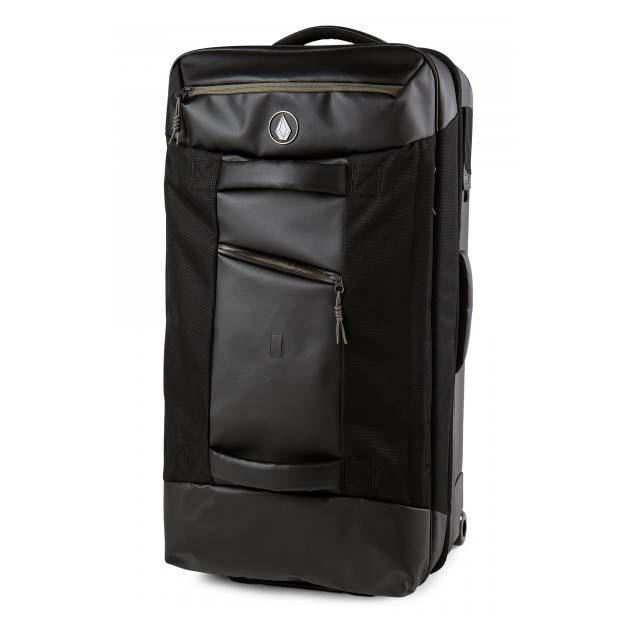 dbe03b86bb1 Volcom Globetrotter Bag Black buy and offers on Dressinn