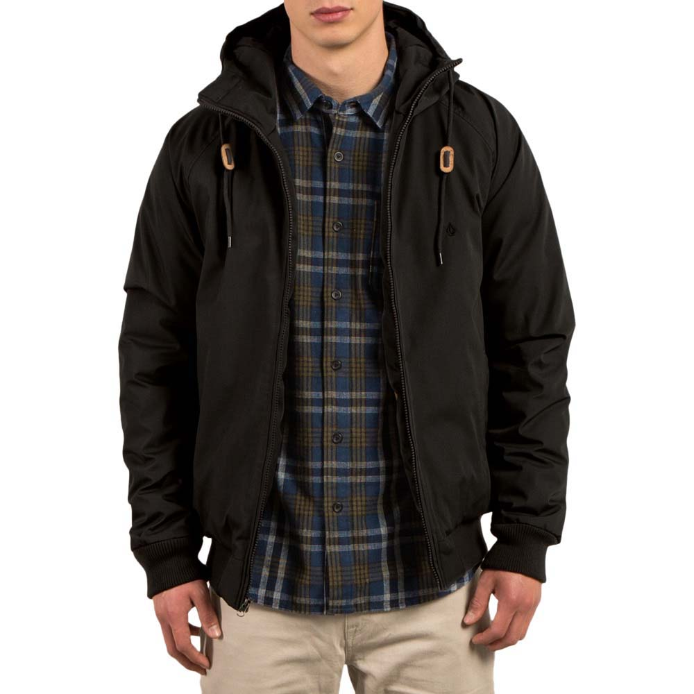 e814d60135d0 Volcom Hernan Jacket Black buy and offers on Dressinn
