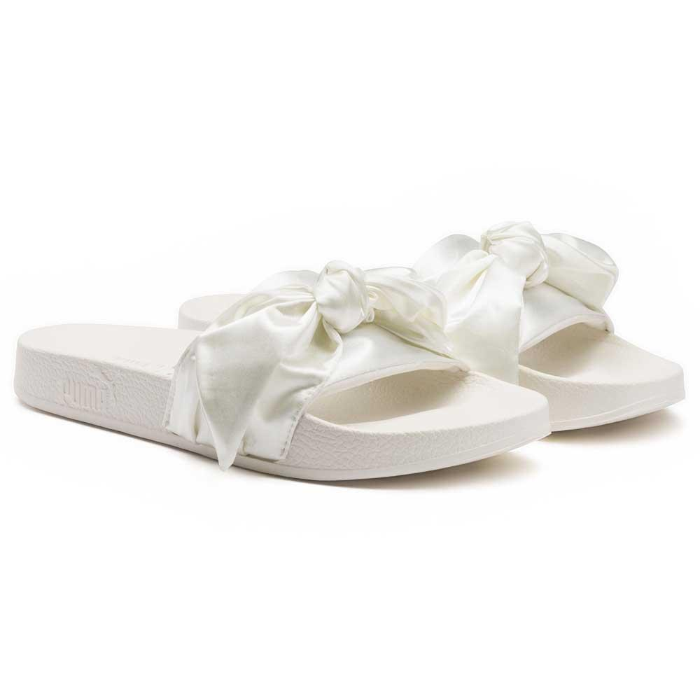 new style bff33 fc2c8 Puma select Fenty Bow Slide White buy and offers on Dressinn