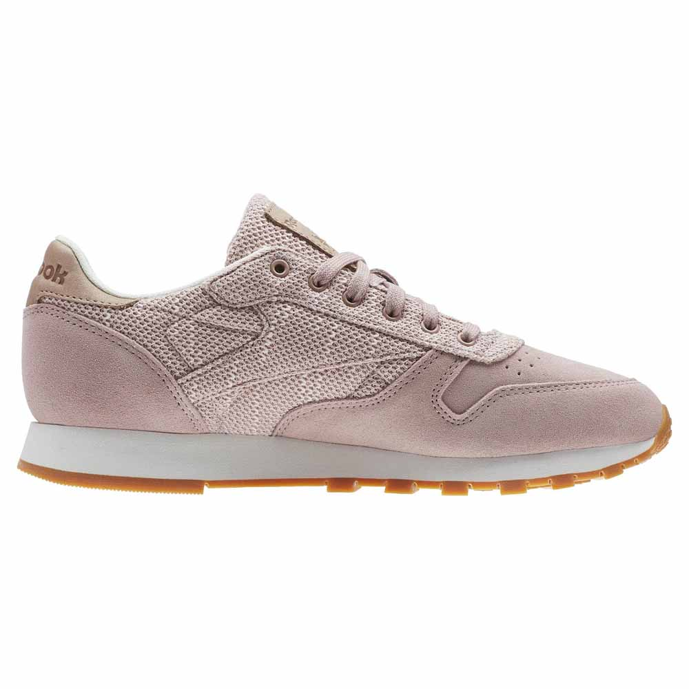 tanque Pelearse Marco de referencia  Reebok classics Cl Leather Ebk Pink buy and offers on Dressinn