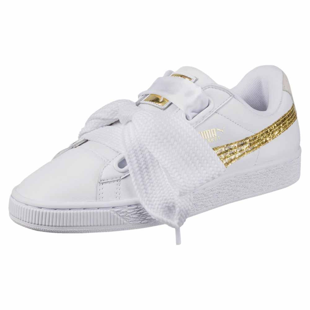 huge discount 68256 4e544 Puma select Basket Heart Glitter